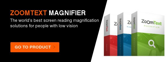 ZoomText Magnifier (includes next 2 upgrades)